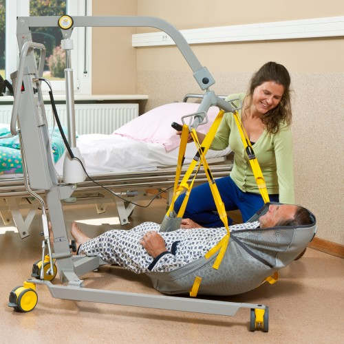 Mobile hoist 1630 A budget friendly solution for home care