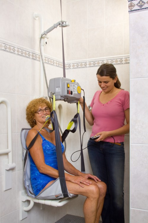 Handi-Move - Portable motor - Safe and reliable: the portable motor - Portable motor , Bath seat PVC