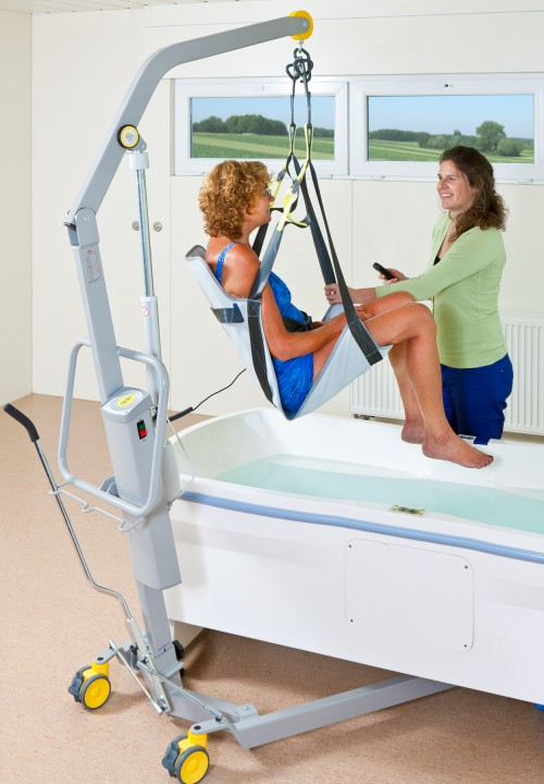 Bath seat - enjoy your bath in comfort