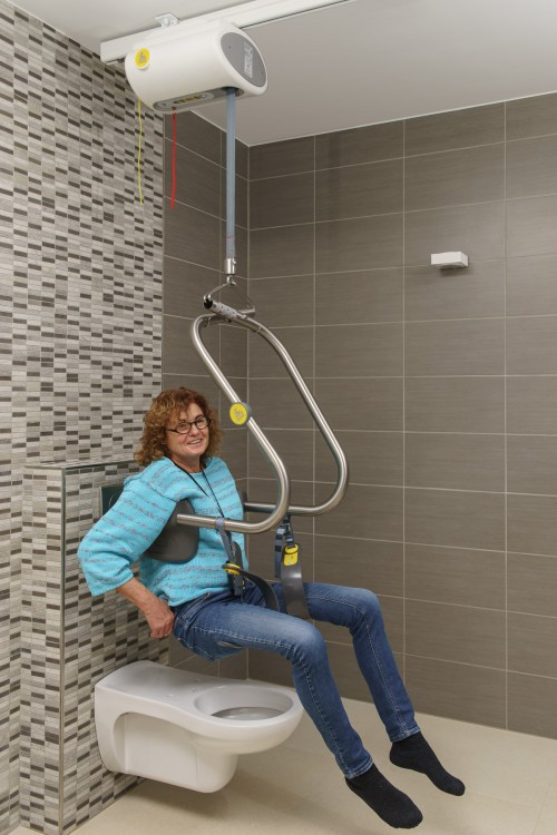 Handi-Move - Ceiling motor - Ideal for the toilet - SureHands® Body Support , Ceiling motor