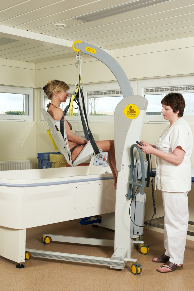 Mobile hoist 2600 (Victor) , Bath seat PVC