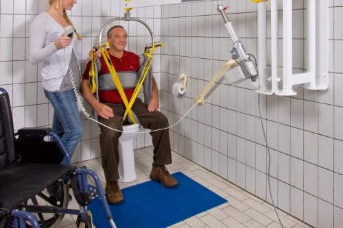 Standard spreader bar , Wall lift , Hygiene sling
