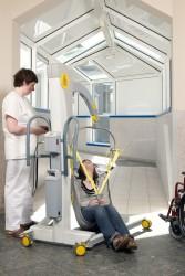 Handi-Move  - Mobile hoist 2600 (Victor) , Standard/contour sling