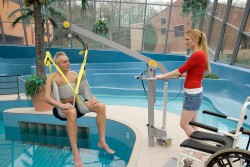 Classic spreader bar , Mobile pool lift  , Bathing sling