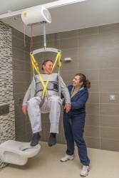 Ceiling motor , Hygiene sling , Flat 2-points spreaderbar